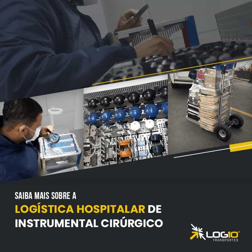 Logística hospitalar de instrumentais