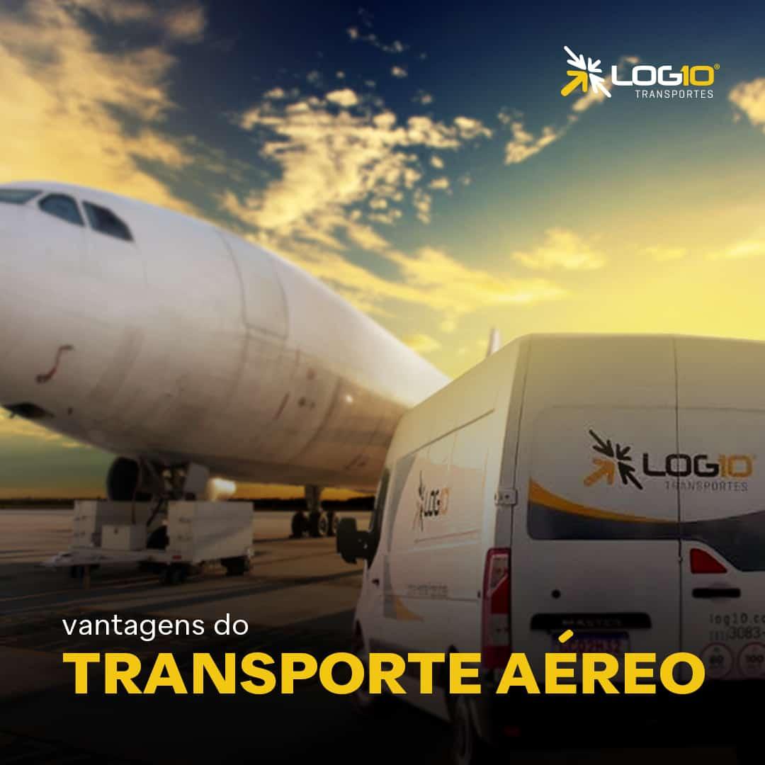 Vantagens do Transporte aéreo