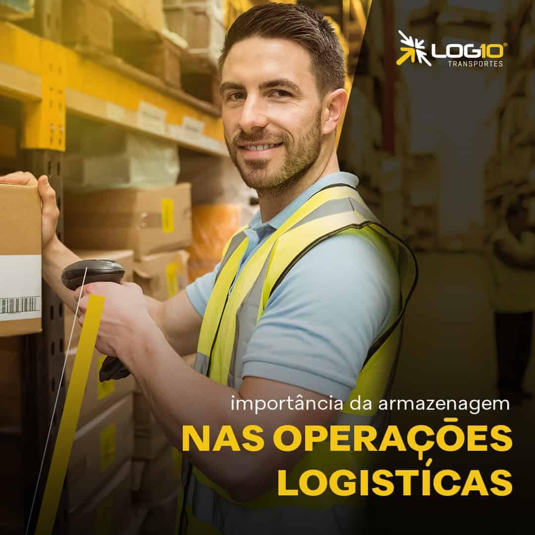 A importância da Armazenagem nas operações logísticas