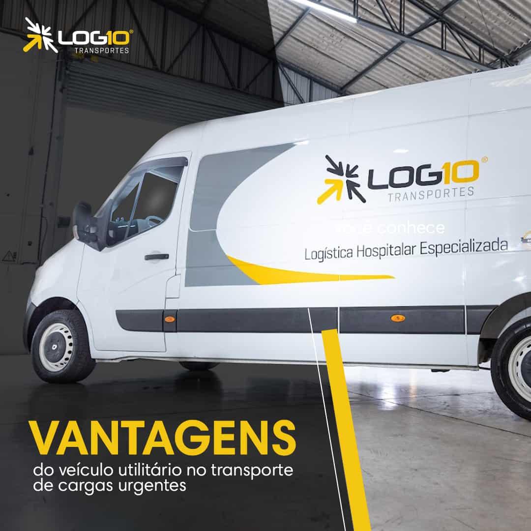 Quais as vantagens do veículo utilitário no transporte de cargas urgentes